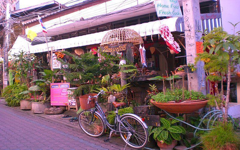 Calles de Chiang Mai