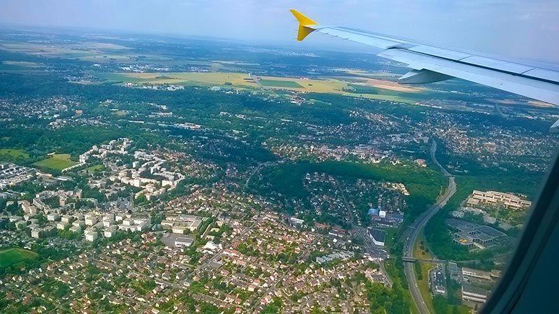Llegando a París