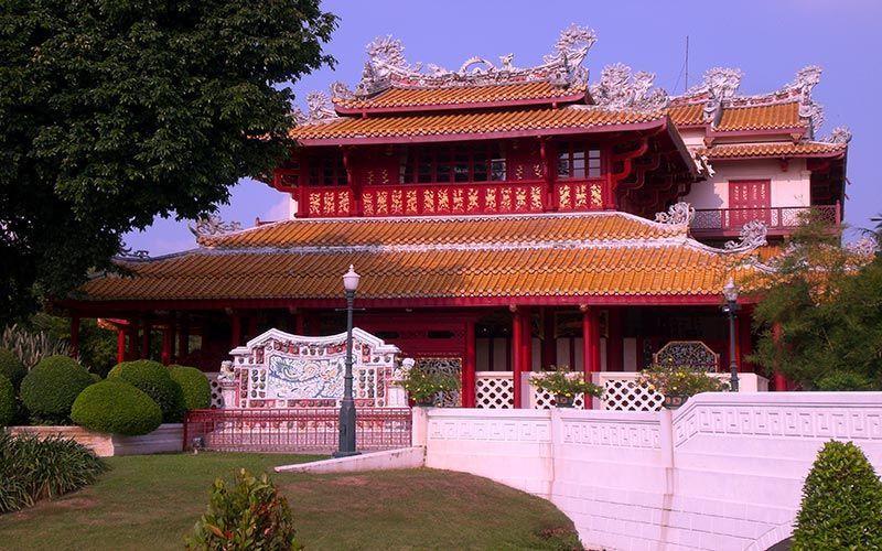 Pabellón chino Pabellon chino Palacio de Verano Bangkok