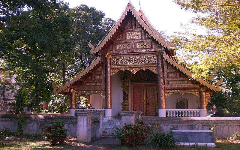 Wat Chiang Man mejores templos de Chiang Mai
