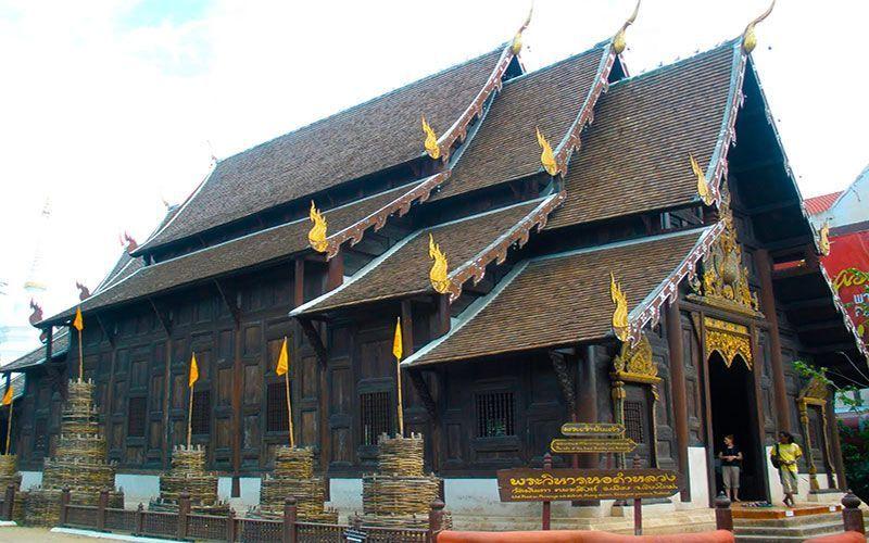 Wat Phan Tao mejores templos de Chiang Mai